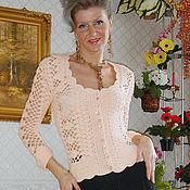 """Одежда ручной работы. Ярмарка Мастеров - ручная работа Кофточка""""Персик"""". Handmade."""