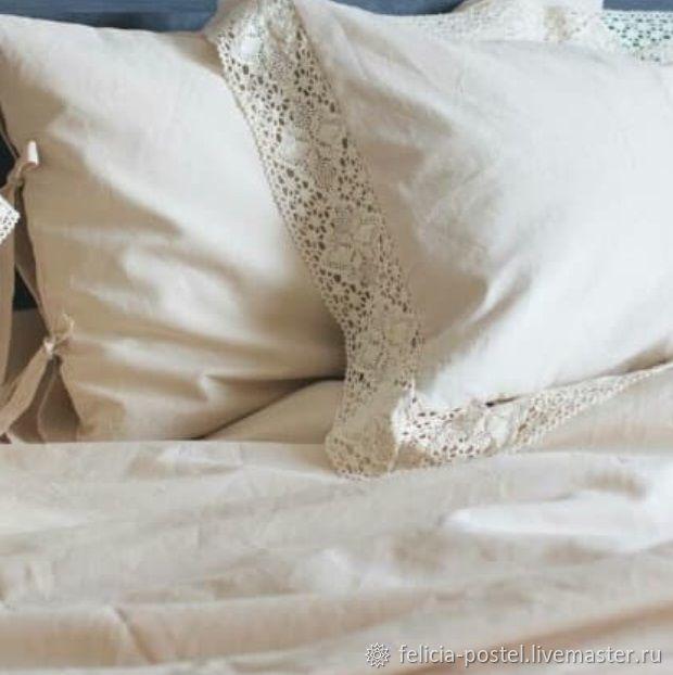 """""""Сhalet"""" -постельное белье с вязанным кружевом, Комплекты постельного белья, Чебоксары,  Фото №1"""