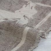 Аксессуары handmade. Livemaster - original item A cashmere shawl from HERMES fabric
