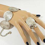 Украшения handmade. Livemaster - original item (B7)Bracelet in the style of ancient Ottoman jewellery.. Handmade.