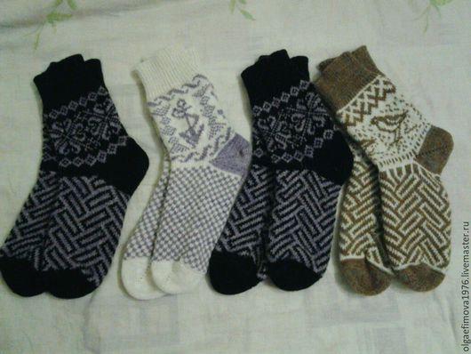 Носки, Чулки ручной работы. Ярмарка Мастеров - ручная работа. Купить носки на любой вкус. Handmade. Носки шерстяные, шерсть