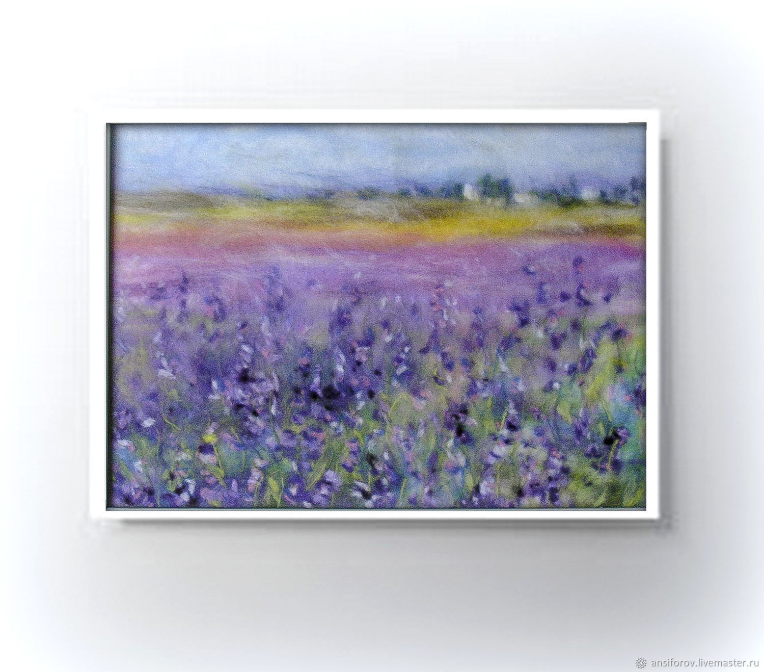 Picture of wool Lavender, Pictures, Engels,  Фото №1