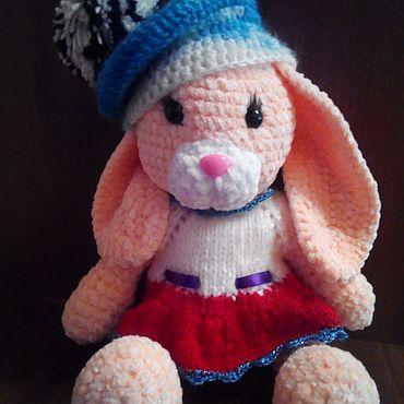 Куклы и игрушки ручной работы. Ярмарка Мастеров - ручная работа Игрушки: зайка. Handmade.