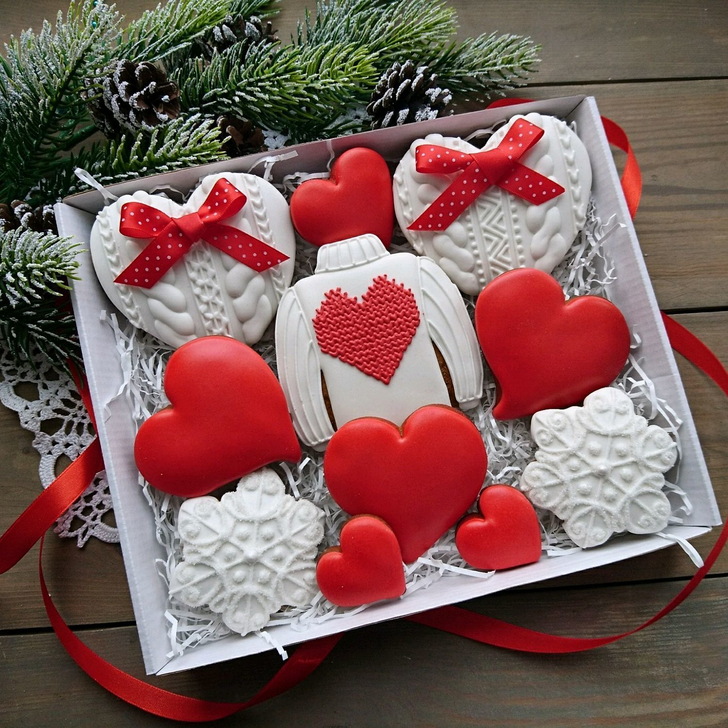 Вязаные пряники для влюбленных, Подарки, Москва, Фото №1