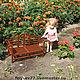 Кукольный дом ручной работы. Заказать Кукольная садовая скамейка. Фетисов Владимир (fetisov77). Ярмарка Мастеров. Мебель для кукол