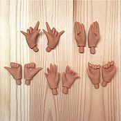 Заготовки для кукол и игрушек ручной работы. Ярмарка Мастеров - ручная работа Кисти для Блайз (Dark). Handmade.