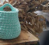 Для дома и интерьера ручной работы. Ярмарка Мастеров - ручная работа Корзиночка с петлей. Handmade.