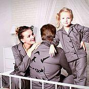 Одежда handmade. Livemaster - original item Pyjama family new year