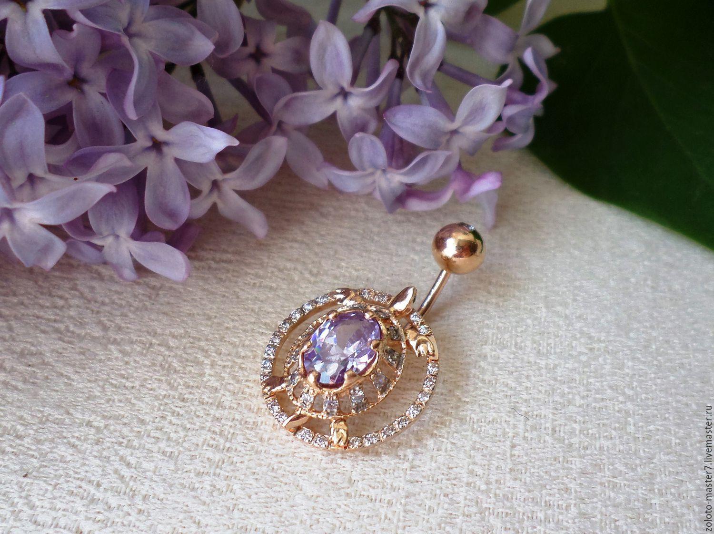 Piercing 'Turtle' 585 Gold, Piercing Jewelry, Chaikovsky,  Фото №1