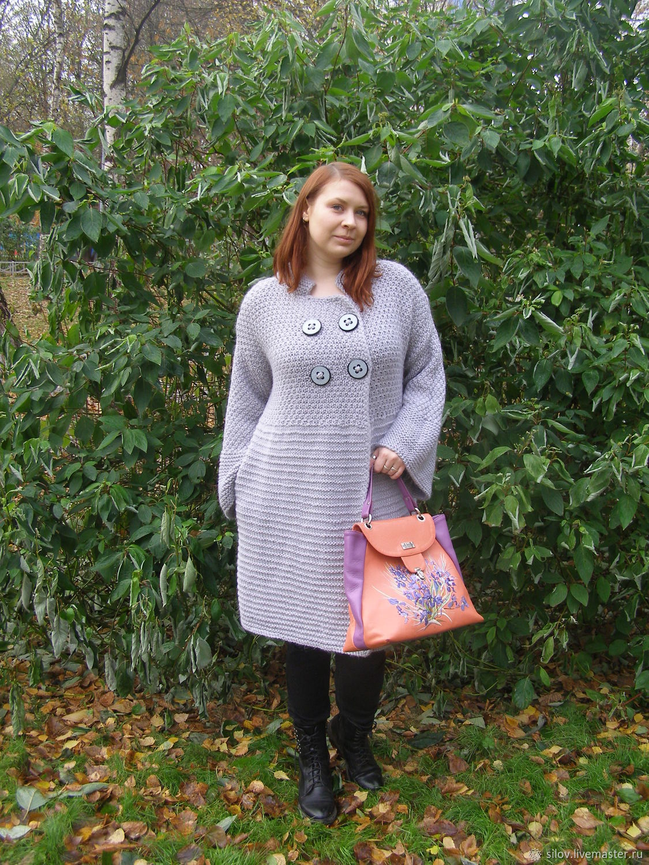 Bohemicae knitted coat knitted coat stylish, Coats, Moscow,  Фото №1