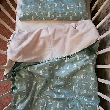 Текстиль ручной работы. Ярмарка Мастеров - ручная работа Постельное белье из льна и хлопка. Handmade.