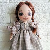 Куклы и игрушки ручной работы. Ярмарка Мастеров - ручная работа Текстильная игровая кукла Даша. Handmade.
