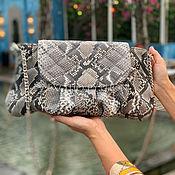 Сумки и аксессуары handmade. Livemaster - original item Stylish handbag made from Python. Handmade.