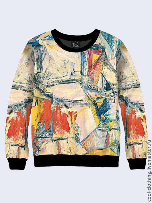 """Кофты и свитера ручной работы. Ярмарка Мастеров - ручная работа. Купить Свитшот """"Граффити"""". Handmade. Разноцветный, повседневная одежда"""