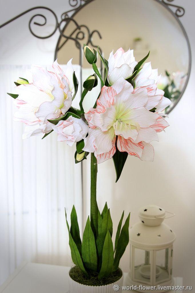 Flower-lamp gippeastrum 'Ariel', Lamps, Surgut, Фото №1