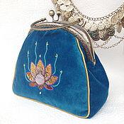 Сумки и аксессуары handmade. Livemaster - original item Velvet handbag