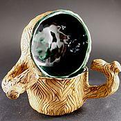 Mugs handmade. Livemaster - original item Mugs: Pottery. Ceramic mug handmade. Handmade.