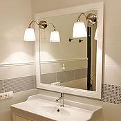 Для дома и интерьера handmade. Livemaster - original item Mirror bathroom. Handmade.