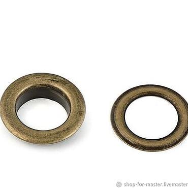 Materials for creativity handmade. Livemaster - original item Grommet, diameter 1,4 cm, color bronze. Handmade.