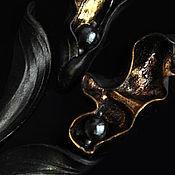Украшения handmade. Livemaster - original item Porcelain brooches from the series