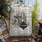 """Скетчбуки ручной работы. Ярмарка Мастеров - ручная работа Скетчбук """"Лесные мечты"""". Handmade."""