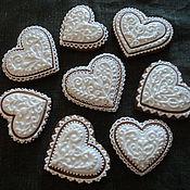 Сувениры и подарки ручной работы. Ярмарка Мастеров - ручная работа Свадебные сердца. Handmade.