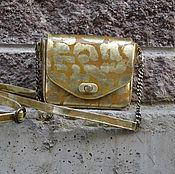 Классическая сумка ручной работы. Ярмарка Мастеров - ручная работа Сумочка-малышка. Handmade.