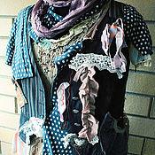 """Одежда ручной работы. Ярмарка Мастеров - ручная работа комплект """"пушистый горошек"""". Handmade."""