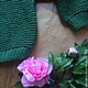 "Кофты и свитера ручной работы. Вязаный свитер ручной вязки ""Оверсайз"". Otkosova_Knitwear (otkosova). Ярмарка Мастеров. Откосова, рубан"