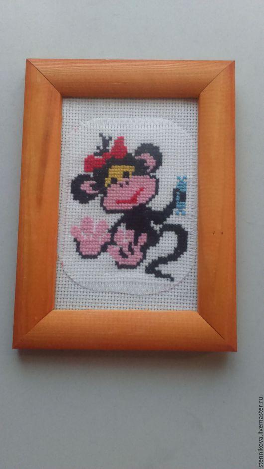 Персональные подарки ручной работы. Ярмарка Мастеров - ручная работа. Купить обезьянка Мэри. Handmade. Комбинированный, подарок на новый год, мулине