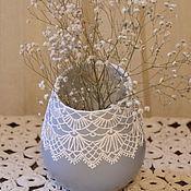 Для дома и интерьера ручной работы. Ярмарка Мастеров - ручная работа Баночка для столовых приборов. Handmade.