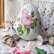 Для дома и интерьера ручной работы. Ярмарка Мастеров - ручная работа сувенирное яйцо. Handmade.