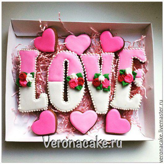 Набор пряников День влюбленных на День Святого Валентина