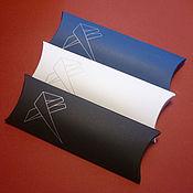 Материалы для творчества ручной работы. Ярмарка Мастеров - ручная работа Коробочка-конверт с вашим логотипом 17х6,5х2 см. Handmade.