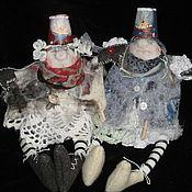 Куклы и игрушки ручной работы. Ярмарка Мастеров - ручная работа подружки-домовушки. Handmade.