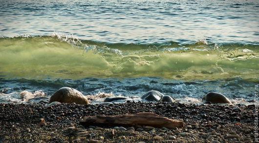 Фотокартины ручной работы. Ярмарка Мастеров - ручная работа. Купить СОЗЕРЦАНИЕ ... ( авторская фотокартина для интерьера). Handmade. Море, бирюзовый