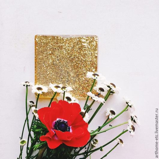 Кухня ручной работы. Ярмарка Мастеров - ручная работа. Купить Подставка под кружку, вазу, украшение. Handmade. Золотой