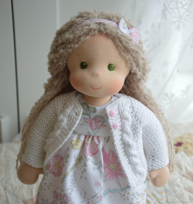 Вальдорфская кукла в Белая нежность, Вальдорфские куклы и звери, Таруса,  Фото №1
