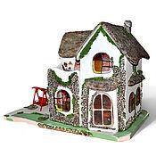 Куклы и игрушки ручной работы. Ярмарка Мастеров - ручная работа Лесной домик. Handmade.