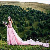 """Свадебный салон ручной работы. Ярмарка Мастеров - ручная работа Свадебное платье """"Богиня цветов"""". Handmade."""