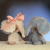 Куклы и игрушки ручной работы. Ярмарка Мастеров - ручная работа Влюбленные слоники. Handmade.