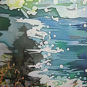 Картины и панно ручной работы. Ярмарка Мастеров - ручная работа Морская даль. Handmade.