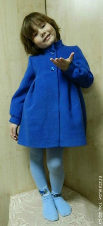 Одежда для девочек, ручной работы. Ярмарка Мастеров - ручная работа. Купить пальто для девочки. Handmade. Детский, для девочки, греция