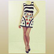 Одежда ручной работы. Ярмарка Мастеров - ручная работа Юбка в стиле Дольче & Габбана. Handmade.