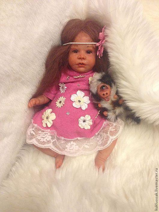 Куклы-младенцы и reborn ручной работы. Ярмарка Мастеров - ручная работа. Купить Девочка зльфик. ООАК.. Handmade. Бежевый
