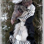 Портретная кукла ручной работы. Ярмарка Мастеров - ручная работа Крыс Шушер. Handmade.