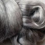 Материалы для творчества handmade. Livemaster - original item Toussaint silk (Tussah), 10 oz., color - Cloud. Handmade.