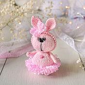 Куклы и игрушки handmade. Livemaster - original item Bunny in a lace skirt. Handmade.