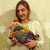 Подарки к праздникам ручной работы. Ярмарка Мастеров - ручная работа МЕШОК-ПЕТУШОК новогодний подарок. Handmade.