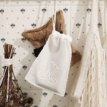 Для дома и интерьера ручной работы. Ярмарка Мастеров - ручная работа Мешочек для хранения бритвы. Handmade.